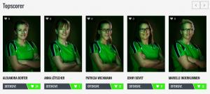 Die Topscorer des UHC Green Vipers